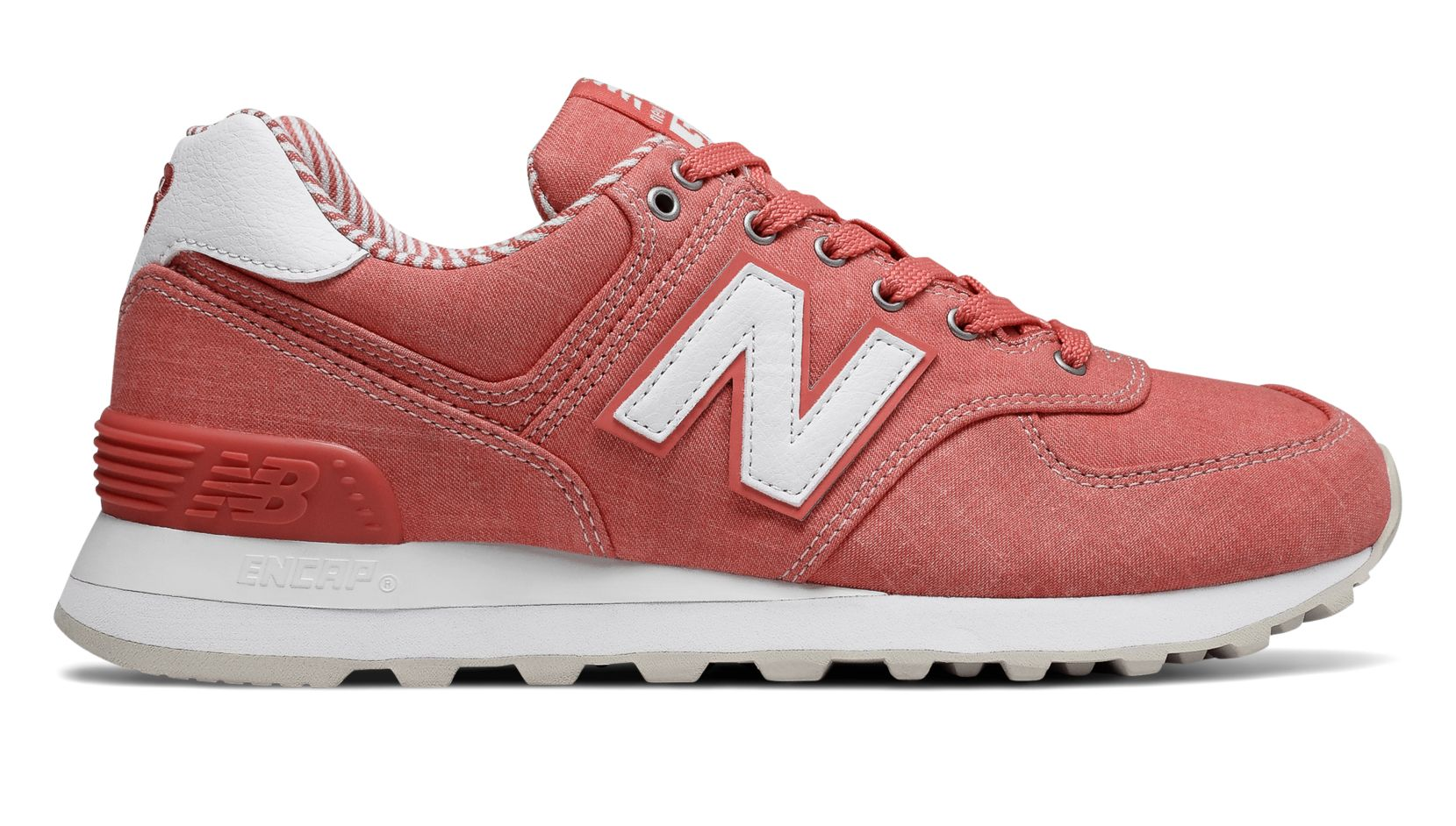 new balance 574 mint coral navy