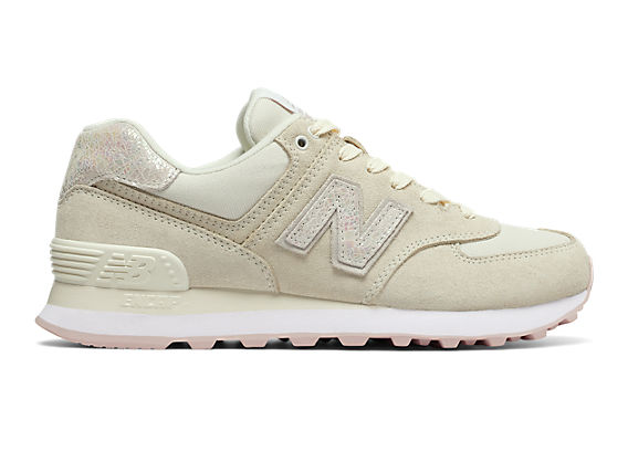 new balance 574 gris irisé