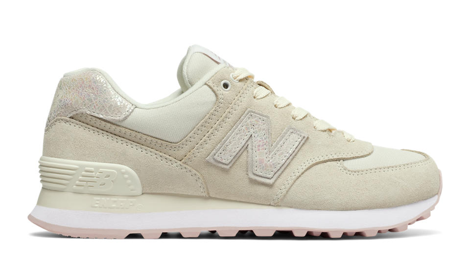 new balance in beige