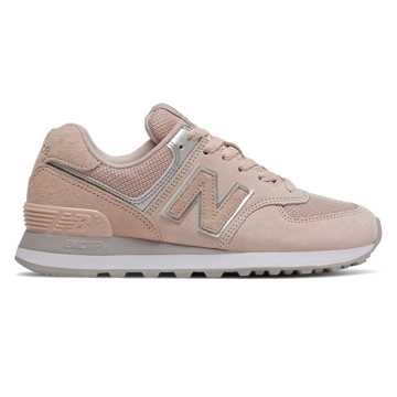 New Balance 574, Smoked Salt with Silver