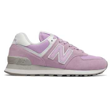 New Balance 574 Essentials, Violet Glo with White