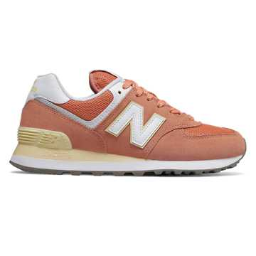 New Balance 574 Essentials, Faded Copper with Sun Glow