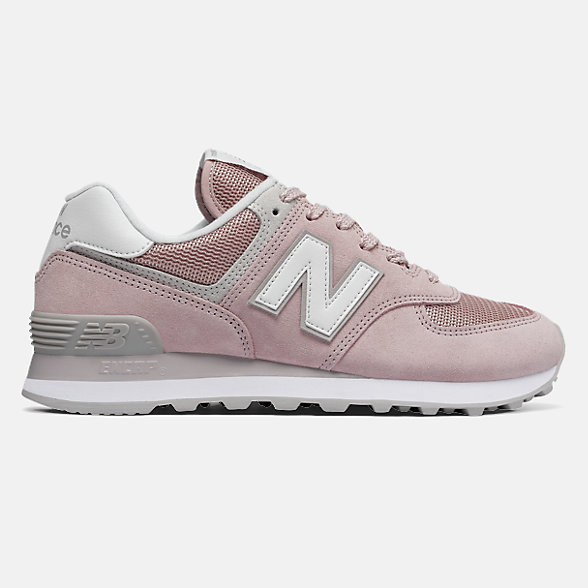 New Balance 574系列女款复古休闲运动鞋 避震稳定 舒适透气, WL574ESP