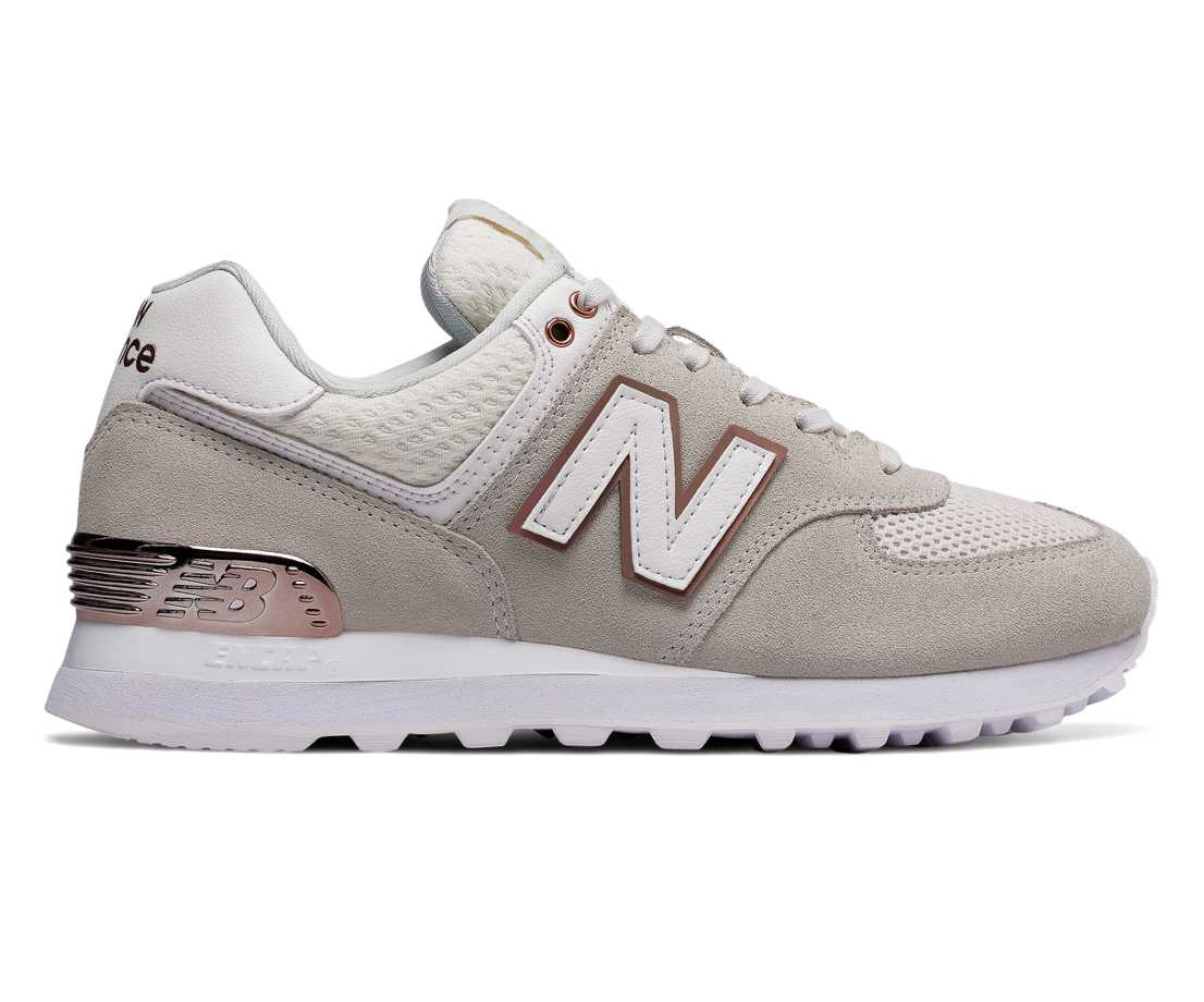 NB 574 All Day Rose, Sea Salt
