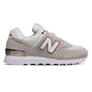 New Balance 574 All Day Rose, Sea Salt