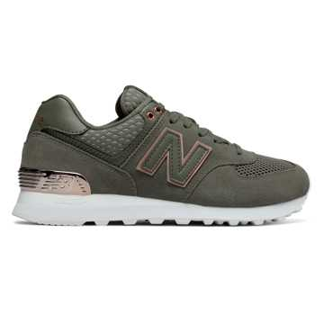 New Balance 574 All Day Rose, Olive
