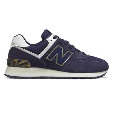 New Balance 574 Geo Metallic, Pigment with Sea Salt