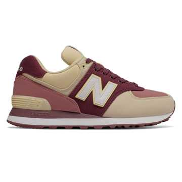 New Balance 574 Outdoor Patch, Burgundy with Dark Oxide