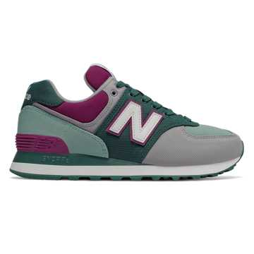 New Balance 574 Outdoor Patch, Deep Jade with Mineral Sage