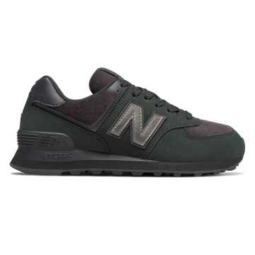New Balance 574, Black with Magnet
