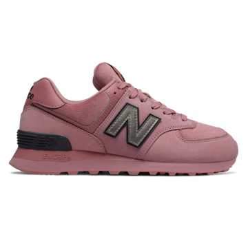 New Balance 574, Twilight Rose with Black