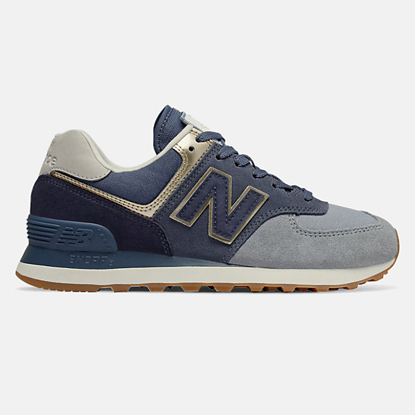 New Balance 574 Metallic Patch, WL574MLD