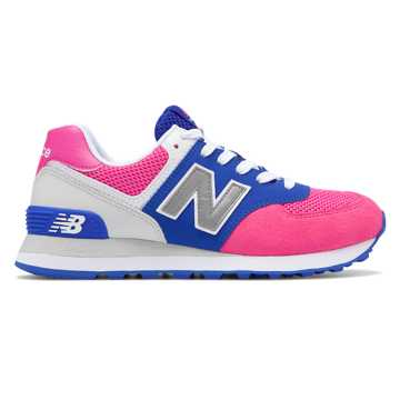 New Balance 574, Pink with Purple