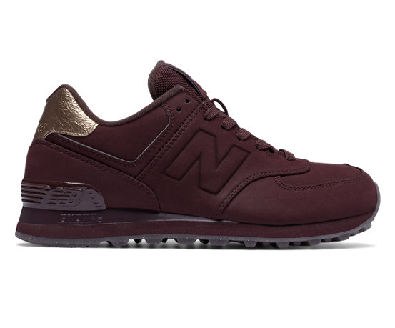 new balance 574 molten metal