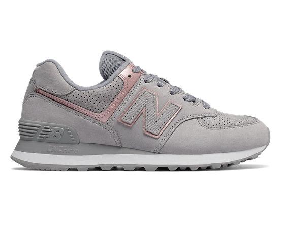 Women's Shoes Nubuck New 574 Balance dxeCoQBrW