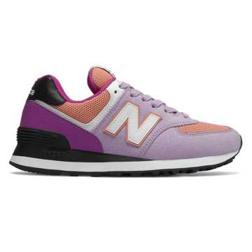 New Balance 574 Summer Sport, Violet Glo with Faded Copper