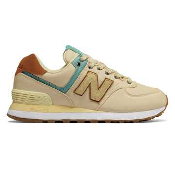 New Balance 574 Backpack, Vanilla with Mineral Sage