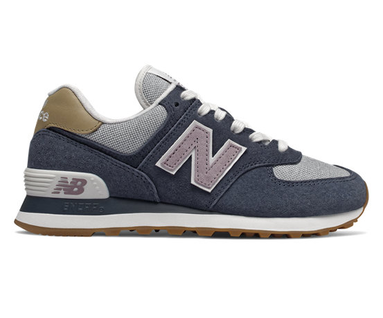 womens new balance 574 navy