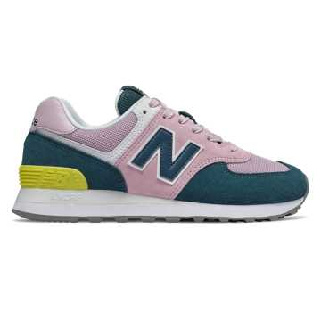 New Balance 574, Oxygen Pink with Supercell