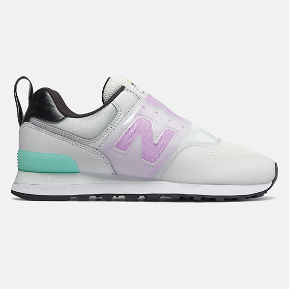 NB 574 Slip On, WL574PGY