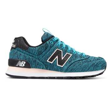 New Balance 574 Outdoor Escape, Vivid Ozone Blue with Sunrise Glo
