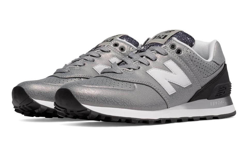 new balance 574 silver