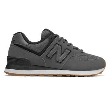 New Balance 574 Winter Quilt, Magnet with Black