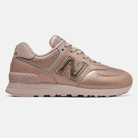 New Balance 574 Worn Metallic, WL574SOJ