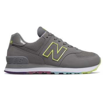 New Balance 574, Marblehead with Lemon Slush