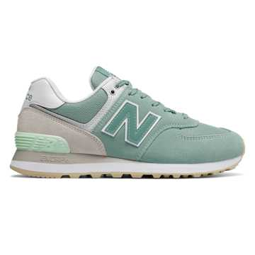 New Balance 574, Mineral Sage with Nimbus Cloud