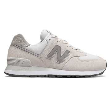 New Balance 574 Pebbled Street, Nimbus Cloud with White