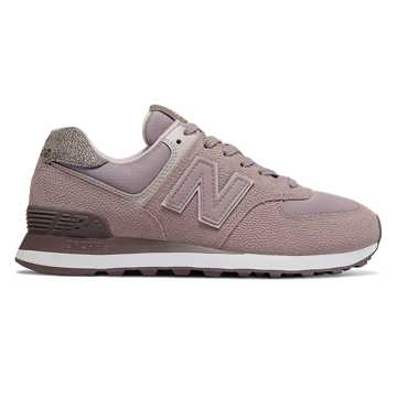 New Balance 574 Pebbled Street, Cashmere with White