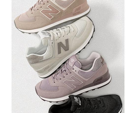 New Balance 574 Womens Charm Pink   +