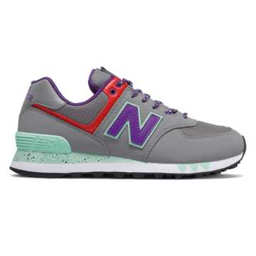 New Balance 574, Marblehead with Prism Purple