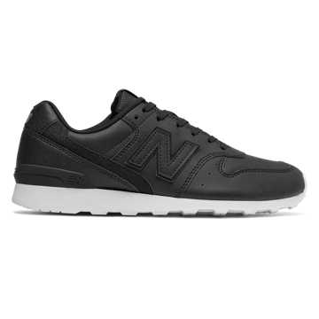 new balance men's 996 fantomfit in black with white