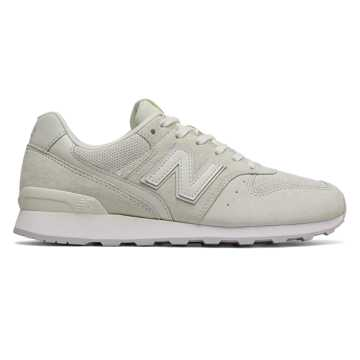 New Balance 696 Suede, Sea Salt with Angora