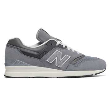 New Balance Leather 697, Grey