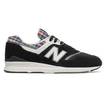 New Balance 697, Black with Castlerock