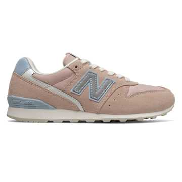 New Balance 996, White Oak with Light Lapis Blue