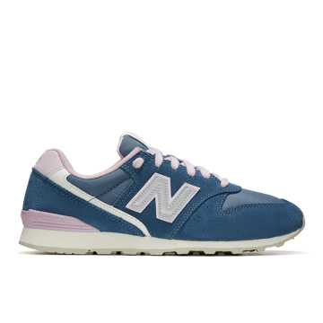 New Balance 996, Techtonic Blue with Oxygen Pink