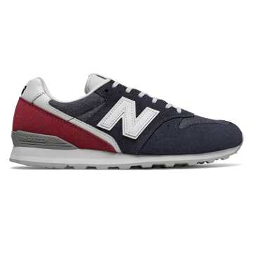 New Balance 996, Eclipse with NB Scarlet