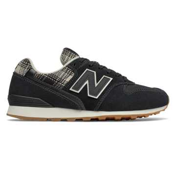 New Balance 996, Black with Incense