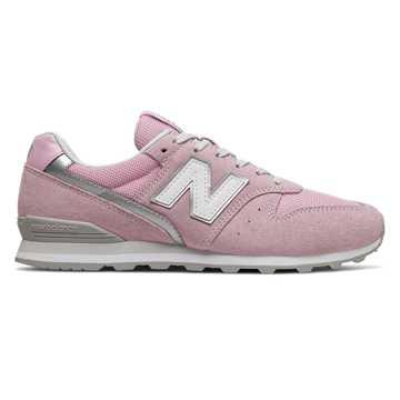 New Balance 996系列女款复古休闲鞋, 粉色