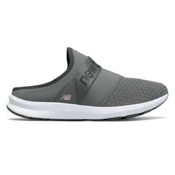 New Balance FuelCore Nergize Mule, Castlerock with Oyster Pink & Magnet