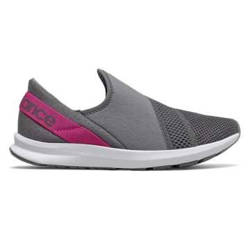 New Balance FuelCore Nergize Easy Slip-On, Lead with Carnival
