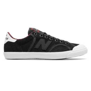 New Balance ProCourt, Black with Tempo Red