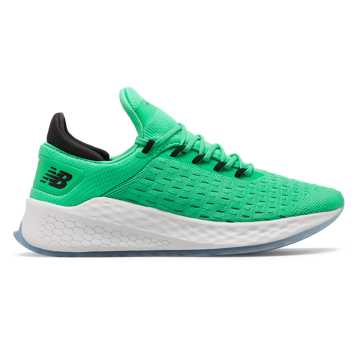New Balance Fresh Foam Lazr v2 HypoKnit, Neon Emerald with Black