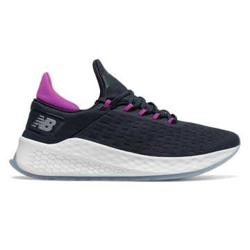 New Balance Fresh Foam Lazr v2 HypoKnit, Eclipse with Voltage Violet