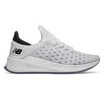 New Balance Fresh Foam Lazr v2 HypoKnit, White with Light Reef