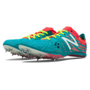 New Balance MD800v3 Spike, Capri Breeze with Bright Cherry & Hi-Lite